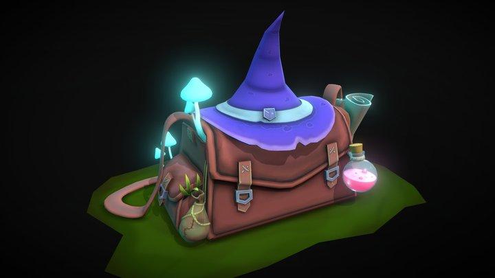 Magicians Bag 3D Model