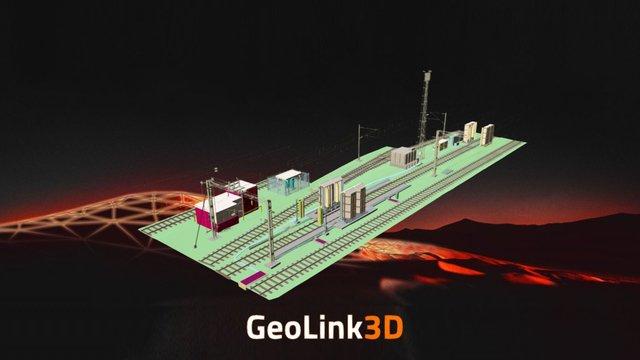 Train Wash 3D Model