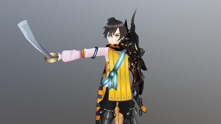 Signa (Demon Gaze 2) 3D Model