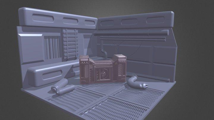 Sifi Blocking 3D Model
