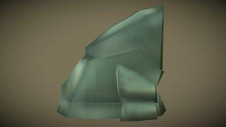 Stones Sloped Block 3D Model