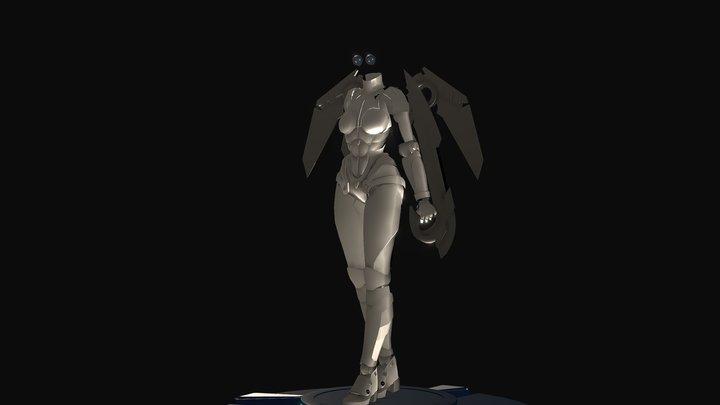 Mox 3D Model