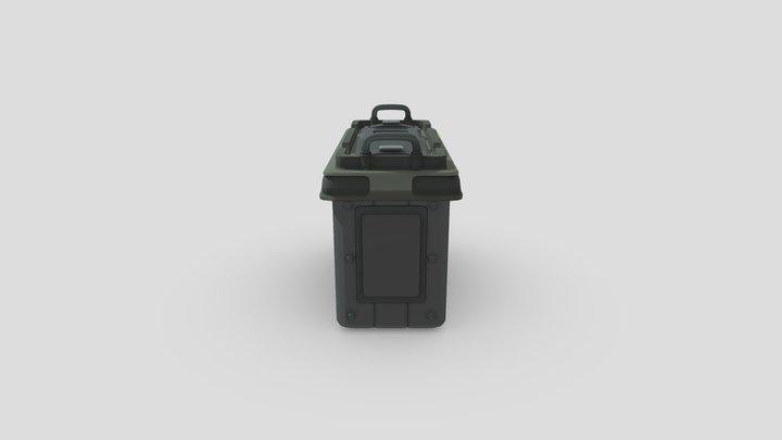 DP4 H Work 6 Mill Box 3D Model