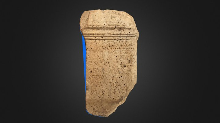 Monument votiv - CIL III 10197 3D Model