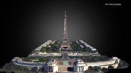 Eiffel Tower - France 3D Model