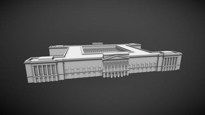 Hannover Neue Residenz 3D Model