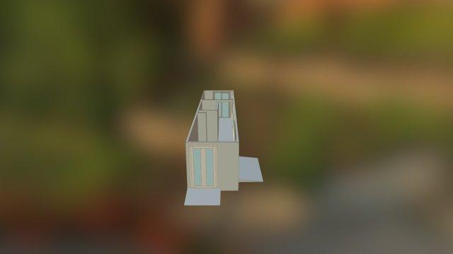 Container aménagé 3D Model