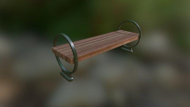Bench01 3D Model