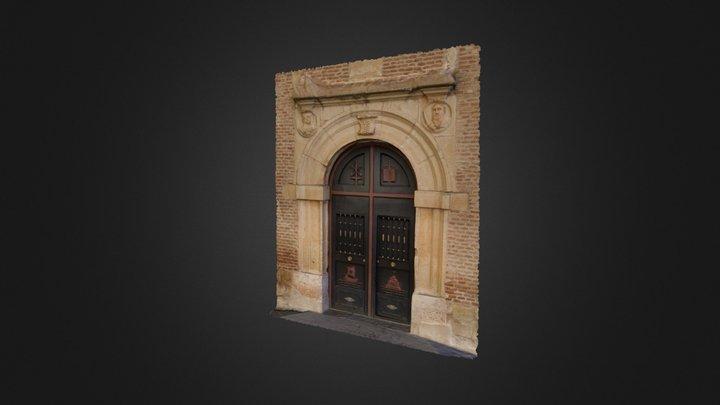 Puerta de Iglesia 3D Model