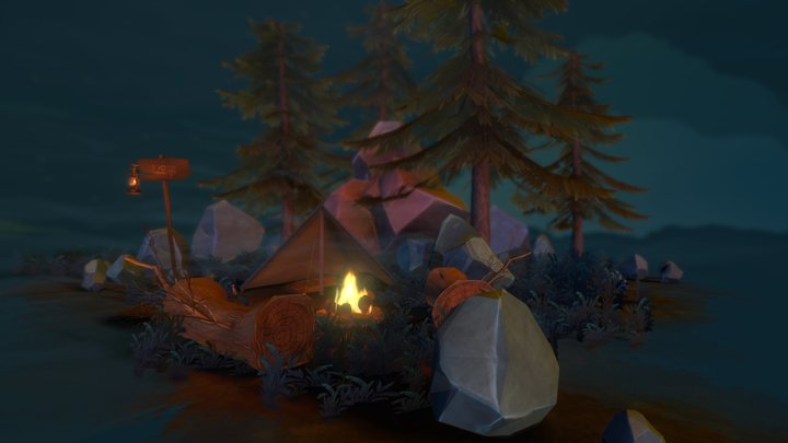 It's time to go camping 3D Model