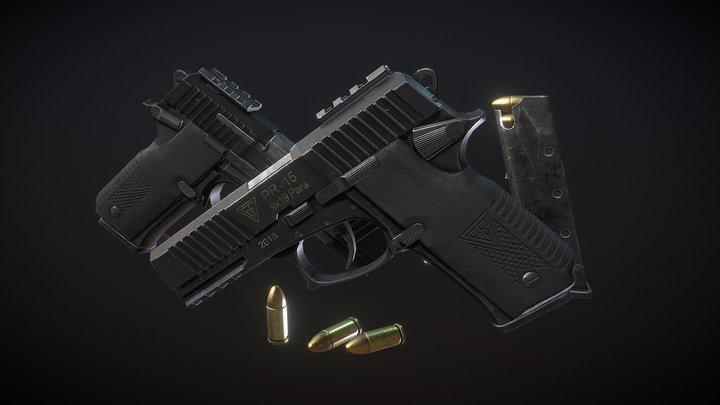PR-15 RAGUN 3D Model