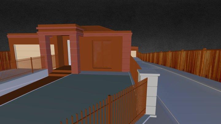 90 Yerrin Street Balwyn 3D Model