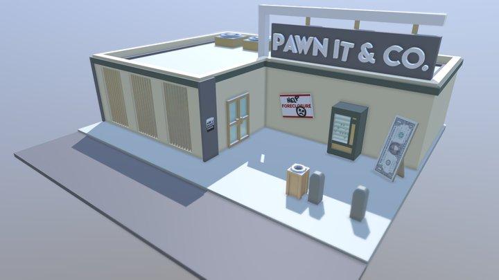 Pawn Shop 3D Model