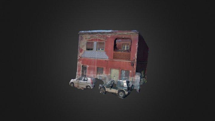 Pink House 3D Model