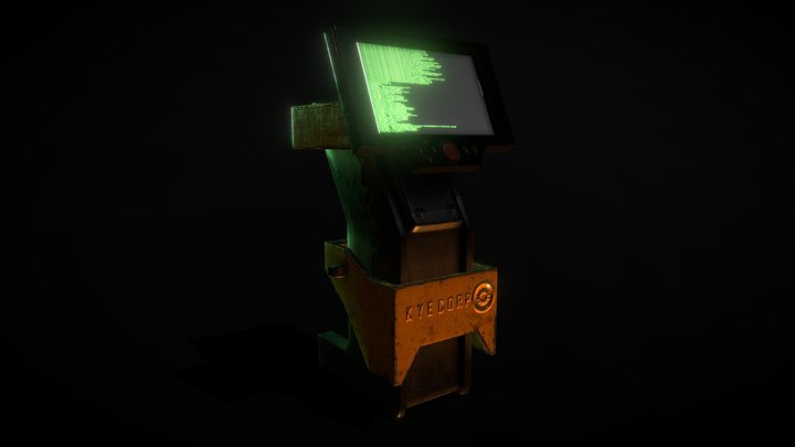 kyecorp console 3D Model