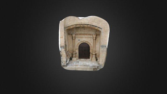 Portico 3D Model