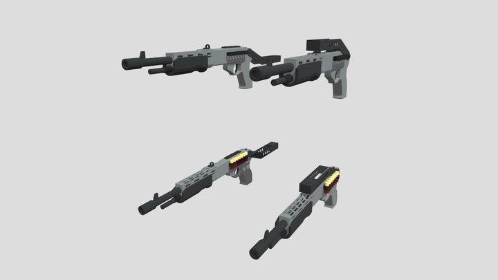 Franchi SPAS 12 3D Model