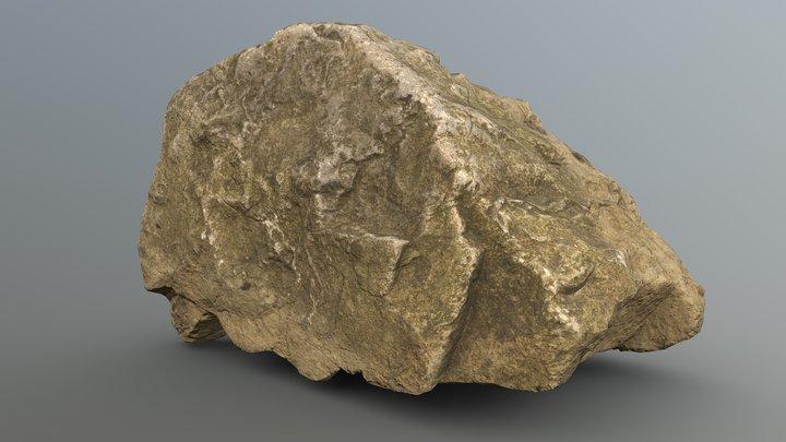 Moss Rock 14 (Free) Rock Pack Vol.2 3D Model