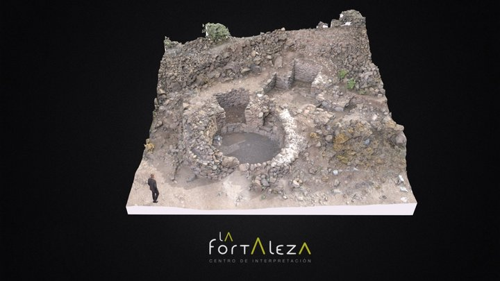 """Estructura 7  (""""La Casa de Rosa Schlueter"""") 3D Model"""
