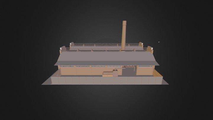 Reconversion Usine S T T 3D Model