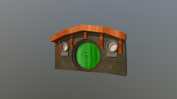 Hobbit Hole 3D Model
