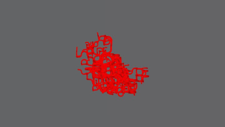 Gridtree x0.97: Blob 3D Model