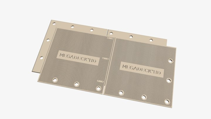 MegaDeck® HD 3D Model