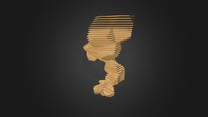 crystal contours 1 3D Model