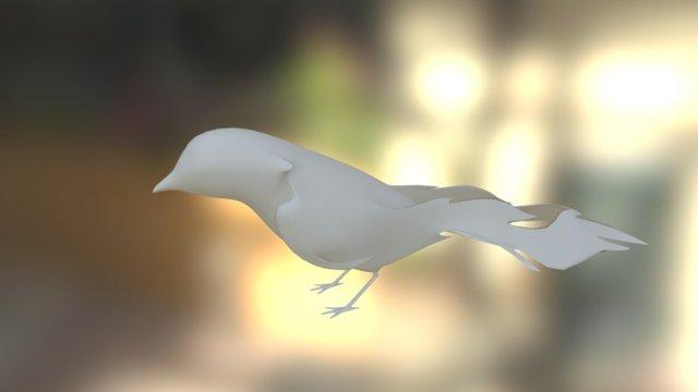 Folded Bird 3D Model