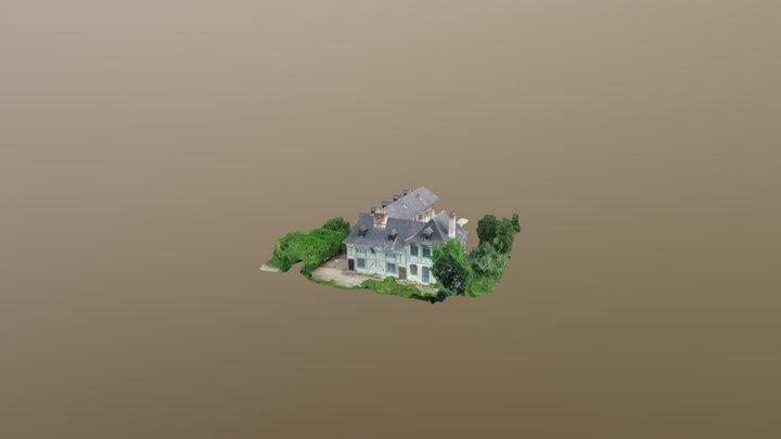 LE-DOMAINE-DU-HOUVRE 3D Model