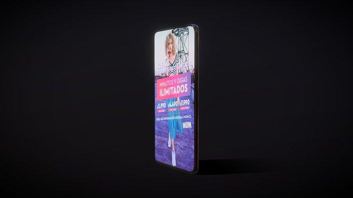 WOM - Samsung Galaxy S20 Ultra 3D Model