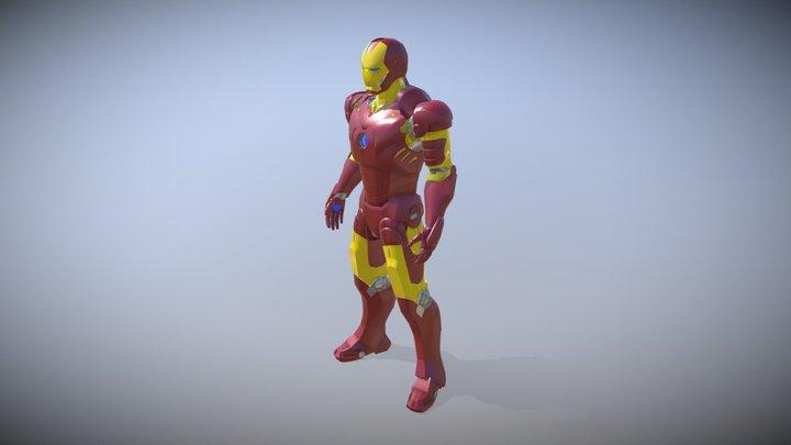 Iron man - Marvel - 3d Character - 3d model 3D Model