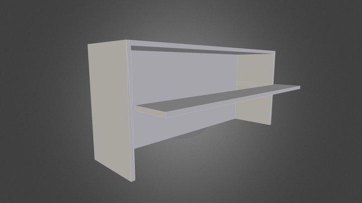 Shelf Single Shelf 3D Model