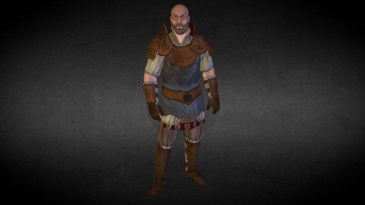 Dragon Slayer 3D Model