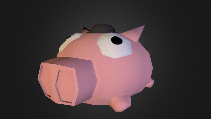 Porky 3D Model