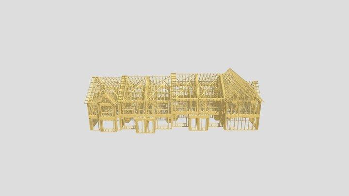Terraced House (opened)2 3D Model