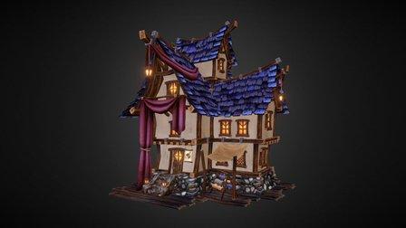 Tailor's House 3D Model