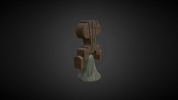 Bloque VI arcivo 6 Campana Baked 3D Model
