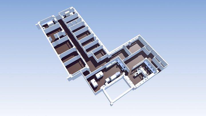 Vila_Real_Proposta_2 3D Model