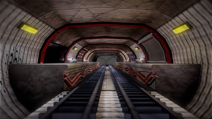 Metro 3D Model