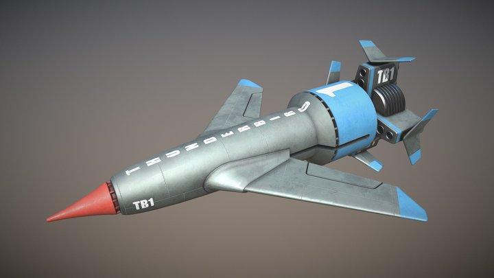 Thunderbird 1 3D Model