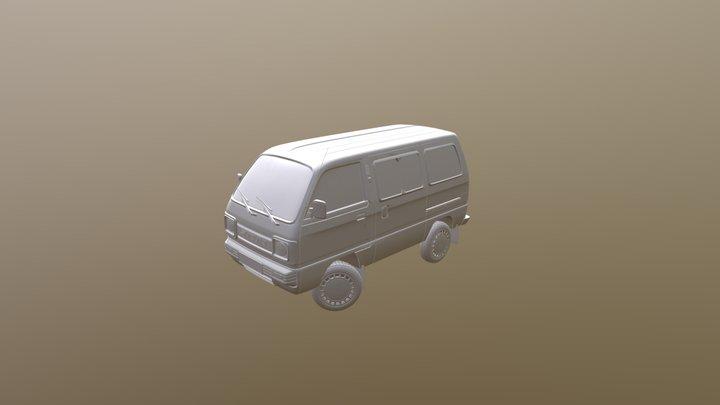 Suzuki India 3D Model