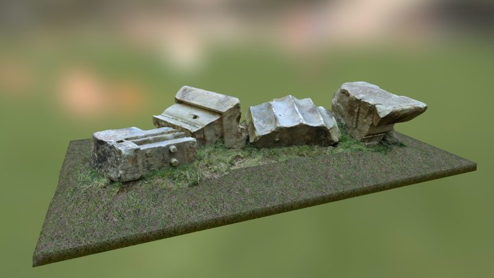 The Euston Arch 3D Model