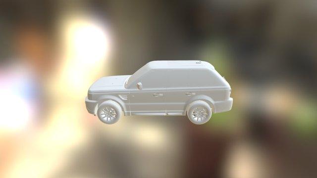 Car Range Rover AR Test 3D Model