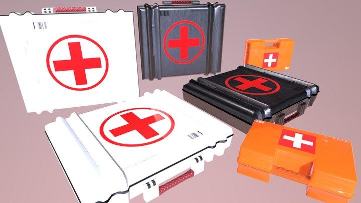 Medkit Pack 3D Model