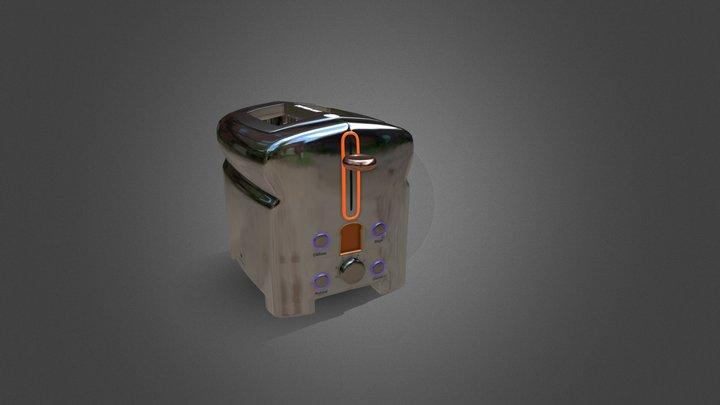 Michael Graves Toaster 3D Model