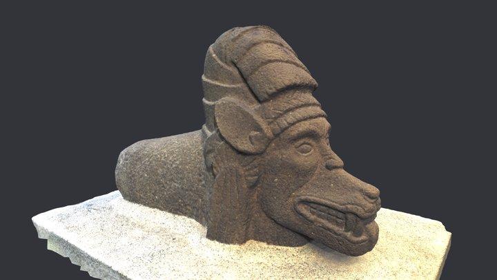 El Baúl, Monumento 65, Cotzumalguapa, Guatemala 3D Model