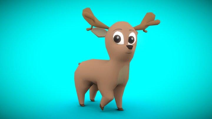 Day 6 | Reindeer - 3December! 3D Model
