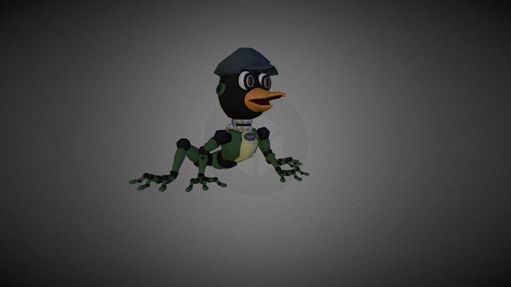 PenguinFrog Robot 3D Model
