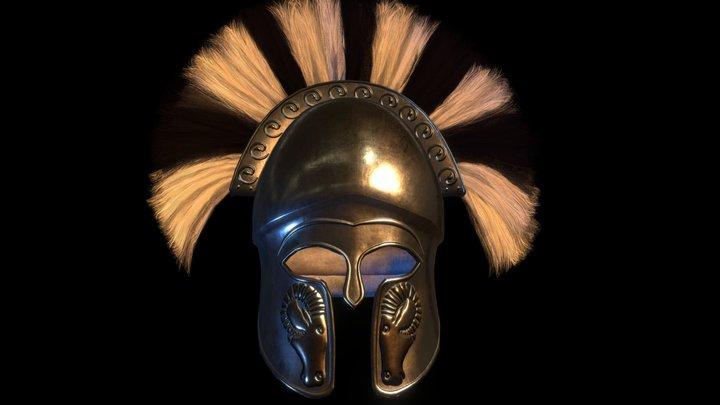 Corinthian Helmet #3 3D Model